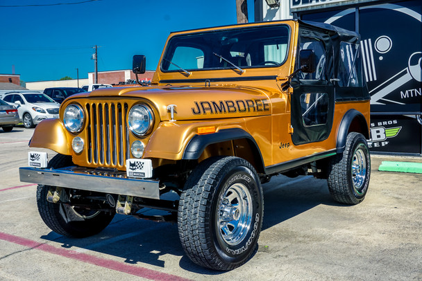 SOLD 1982Jeep CJ-7 Jamboree Edition Stock# 039180