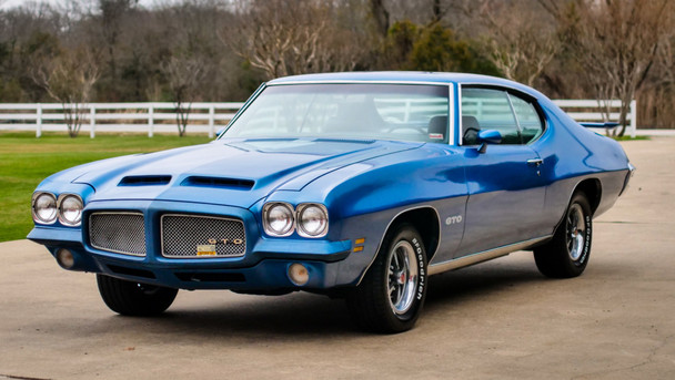 SOLD SOLD SOLD 1971 Pontiac GTO AS SEEN ON COFFEE WALK Stock# 131084