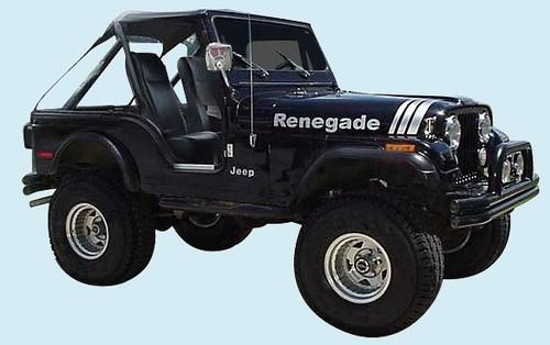70 06 Cj Yj Tj Jeep Renegade Hood Decal Kit Collins