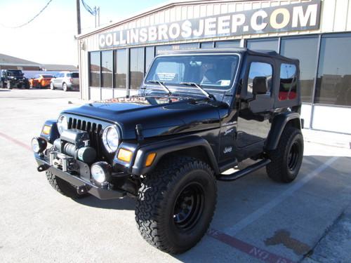 sold 2001 jeep wrangler tj black stock 315942 a collins. Black Bedroom Furniture Sets. Home Design Ideas