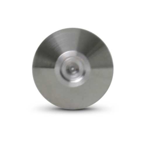 "Accustream A2 diamond orifice used with abrasive applications. Sizes range from .007""-.018""."