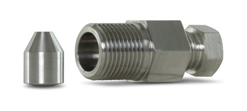 "Accustream thimble filter assembly. 1/4"" female to 3/8"" male. Assembly includes: thimble filter, thimble filter element (ACS12401), 3/8"" thimble filter coned bullet insert (ACS11288)."