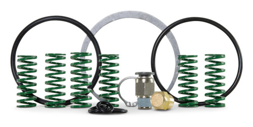 Accustream AccuValve actuator repair kit. Repair kit includes: exhaust muffler, springs, fitting, snap rings and O-rings.