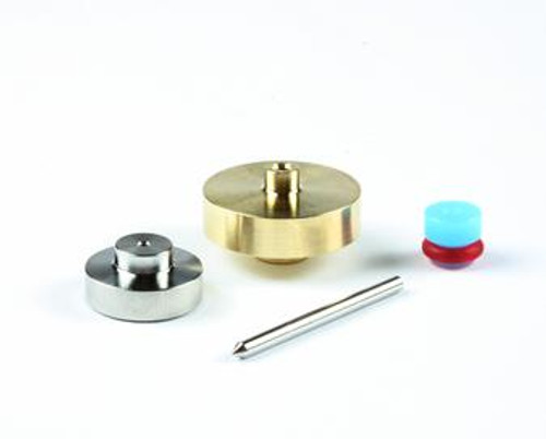 Accustream on/off valve and bleed-down valve repair kit. Includes: ACS11010 AccuSeat, needle, needle bearing and valve seal.