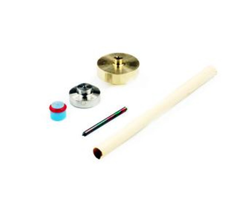 Accustream high-cycle on/off valve repair kit. Includes: 11010 AccuSeat, needle, needle guide and valve seal.