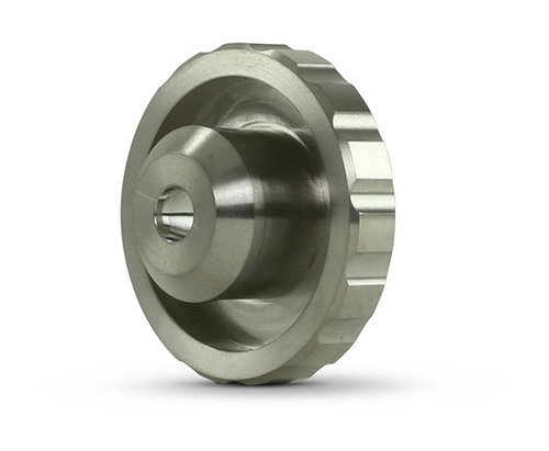 Accustream replacement part suitable for Flow® cutting heads. DiaLine nozzle nut, clamp style.