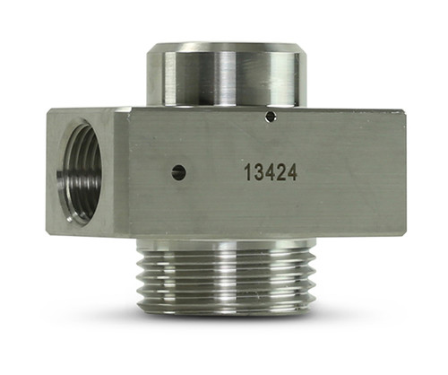 Replacement part suitable for Flow®. 90K Universal on/off valve body. Replaces part # 014554-1.