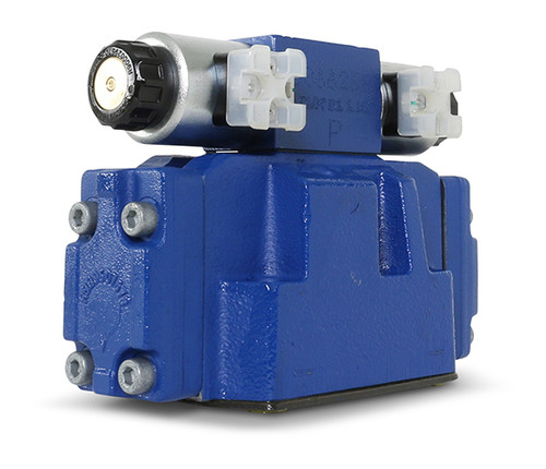 Replacement part suitable for Flow®. Electrical shift and pilot assembly. 24-volt Rexroth. Replaces part # A-18862.