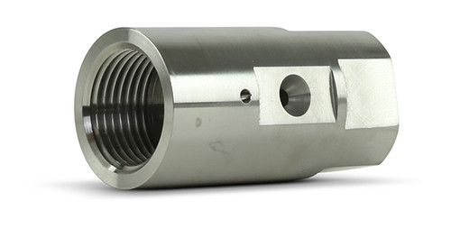 Accustream replacement part suitable for Jet Edge™. On/off valve body. Replaces part # 46627.