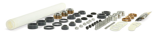Replacement part suitable for OMAX®. Major rebuild kit. Kit includes: ACS12013 check valve repair kit, ACS12015 minor check valve repair kit, check valve, check valve retainer & support ring. Replaces OMAX® part # 302701.