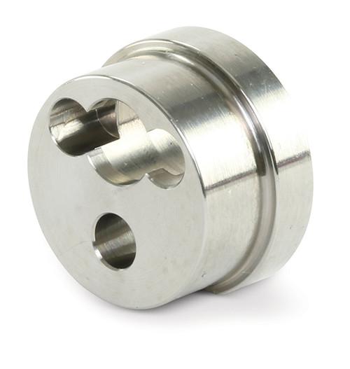 AccuStream replacement part suitable for EnduroMax™. Check valve retainer. Replaces OMAX® part # 308104.