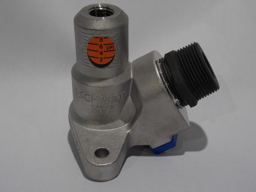 """Micro 3 Valve Body, Includes 1-1/4"""" Media Inlet Nipple, Part # 2128-000-06"""