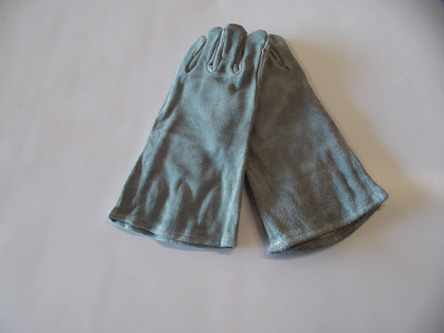 "Gloves, 14"" Leather Cotton Lined - Part # 2011-MW"