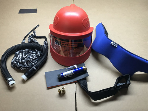 Apollo 600 High-Pressured Supplied-Air Respirator with Cool-Air Tube, Breathing Tube, Apollo 600 Cape. Part # CL25192 (Call to order)