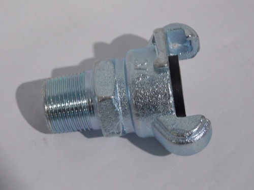 """Chicago Fitting, Male 2-Claw, 3/4"""" NPT, Part # 21DPME075"""