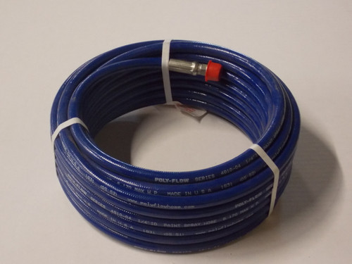 """Airless Hose, 3/8"""" ID x 50', 8000PSI MWP - Part # 400-130 (Call to order)"""
