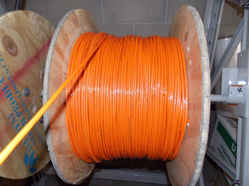 PUNKIN CORD, 14 Gauge 2 Wire, Bright Orange Cord - Part # 14.2 PUNKIN CORD (Purchased by Foot)