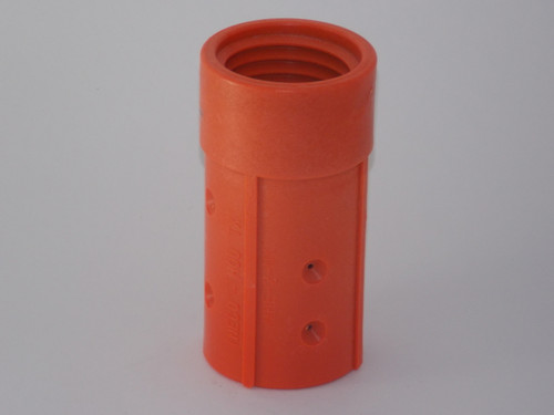 "Nozzle Holder, Nylon 50MM Threads, Fits 1-7/8"" OD Blast Hose - Part # 13NYMHE2"