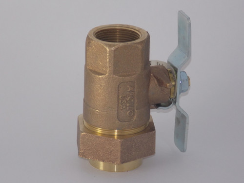 "Union End Ball Valve, 1-1/4"" Thread - Part # 2408-907"