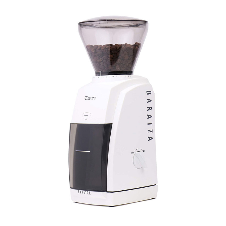 Baratza Encore Conical Burr Coffee Grinder (White)