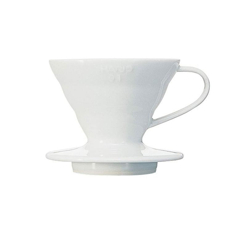 Hario V60 Coffee Dripper 01 Ceramic / White