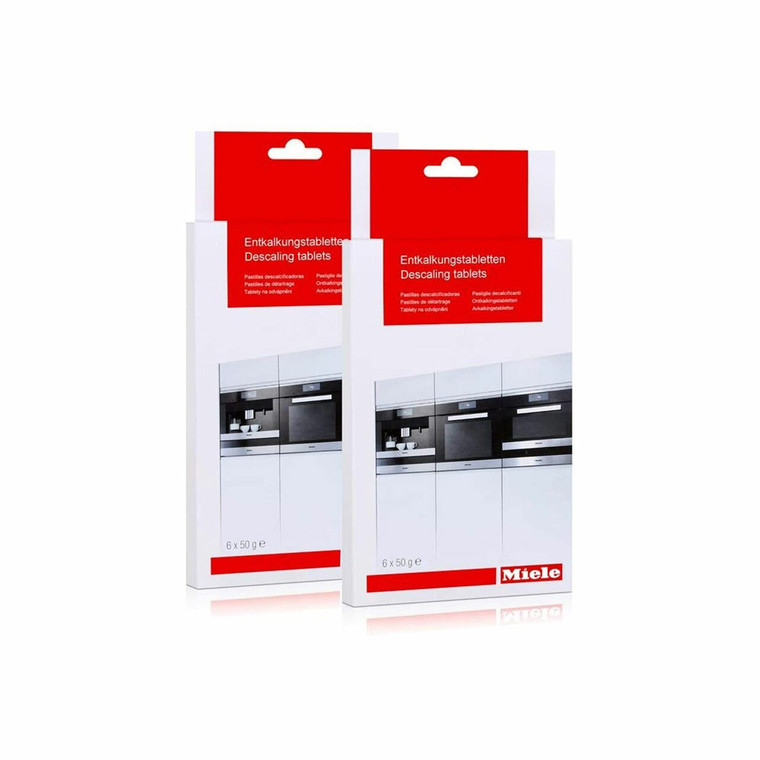 Miele 10178330 Descaling Tablets - 6 Tablets (Pack of 2)