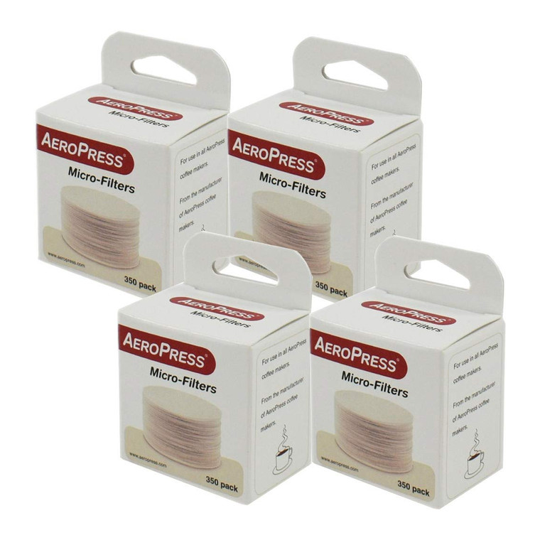 AeroPress Replacement Filter - 4 Pack - Microfilters For The AeroPress Coffee And Espresso Maker - 1400 count