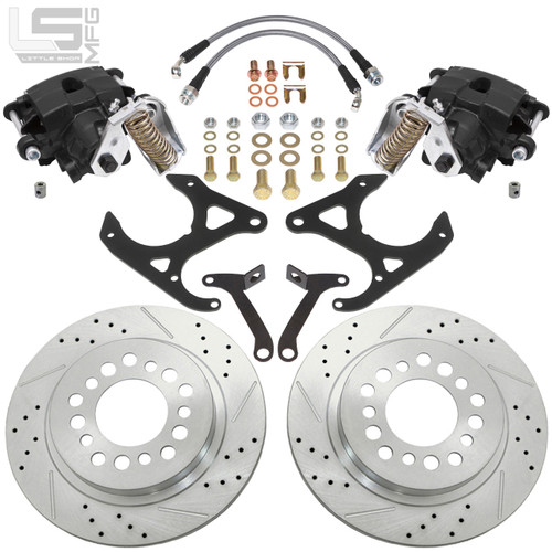 GM Early Style S10 & Midsize Rear Disc Brakes