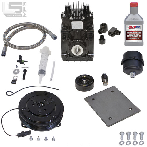 GM Duramax Engine Driven Compressor Kit - Little Shop Mfg