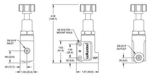 wilwood proportioning valve Wiring Diagram for Tachometer