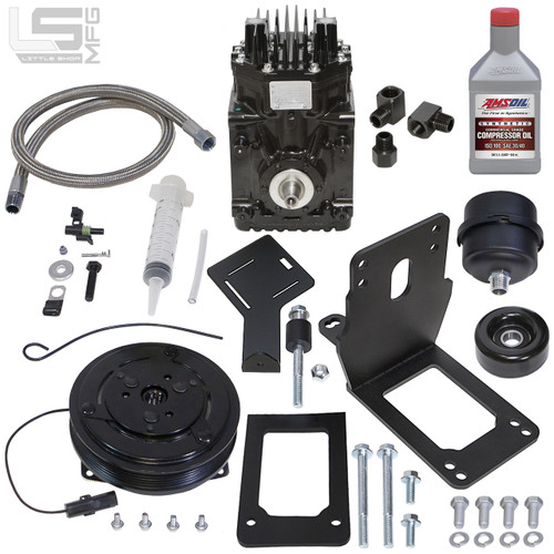 GM Duramax Engine Driven Compressor Kit