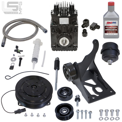 GM 5.3, 6.2 LT Belt Driven Compressor Kit