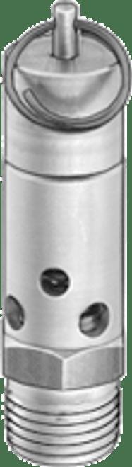 1/8 NPT Blow-off Safety Valve - 225 psi