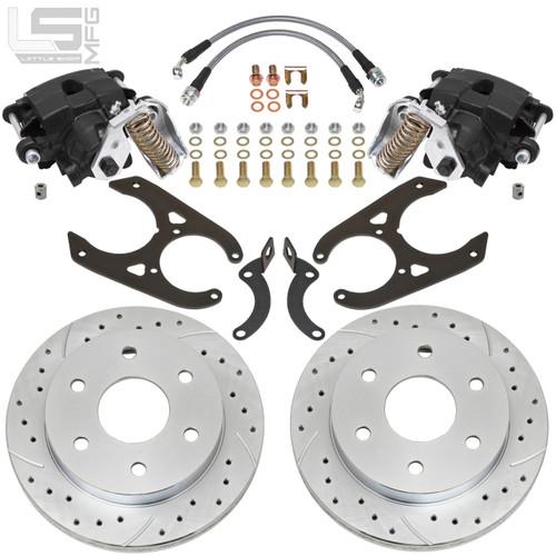 GM 88-00 K1500 Rear Disc Brakes (6-lug, 10