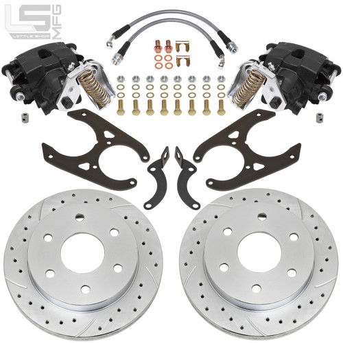 "GM  88-00 K1500 Rear Disc Brakes (6-lug, 10"" Drum)"