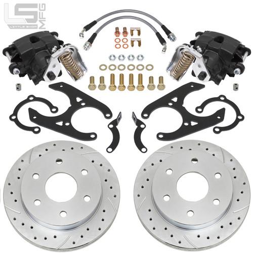 "GM  88-00 K1500 Rear Disc Brakes (6-lug, 11"" Drum)"