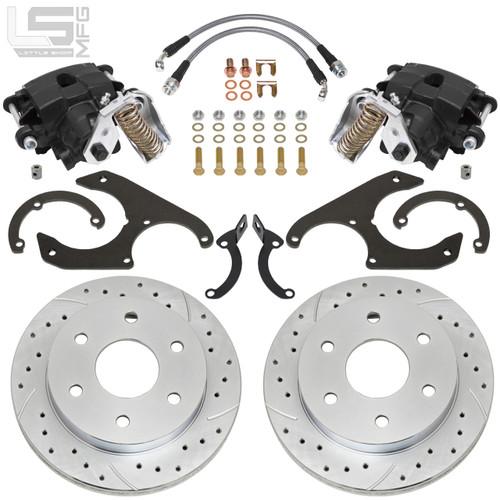GM 62-91  K10 / C10 Rear Disc Brakes (6-lug)
