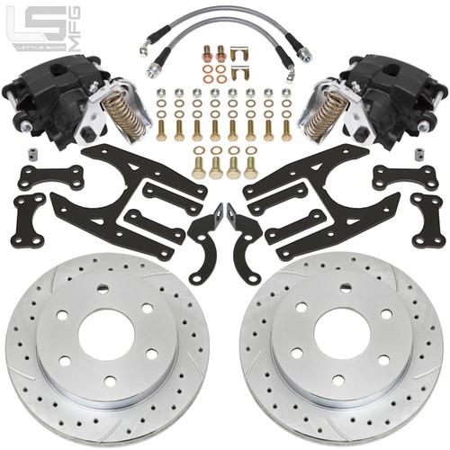 GM  02-18 Silverado/Sierra 1500 Rear Disc Brakes