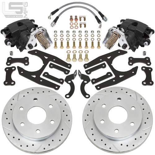 GM  02-18 Silverado/Sierra 1500 Rear Disc Brakes