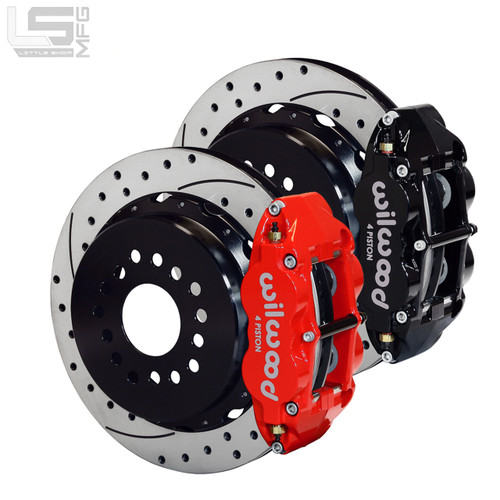 "LSMFG/Wilwood Rear 14"" Big Brake Kit (Big Ford New Style)"