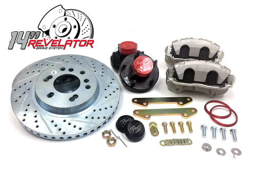 "Pro Performance 14"" Front Big Brake Kit - 88-98 GM Truck / SUV"