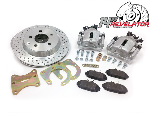 "Pro Performance 13"" Rear Big Brake Kit - 88-98 GM Truck / SUV"
