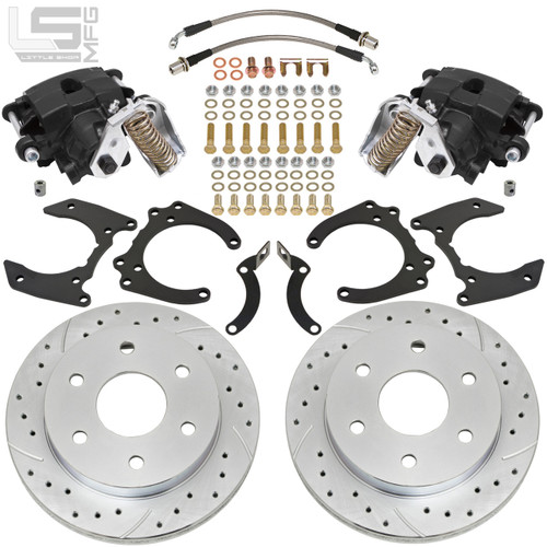 Toyota 79-95 4WD Pickup Rear Disc Brakes (6-lug)