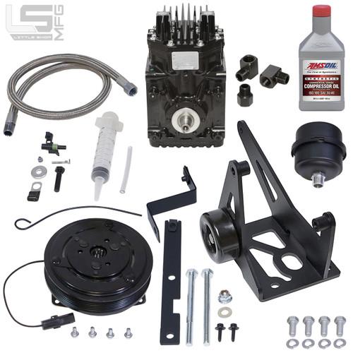 GM 2011-Present 6.0L LS Belt Driven Compressor Kit