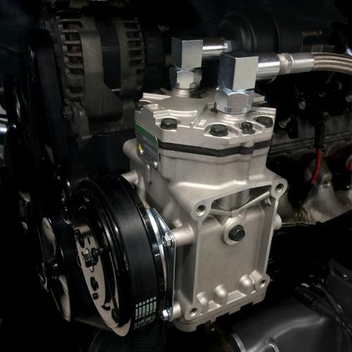 GM 4 8, 5 3, 6 0, 6 2 LS Belt Driven Compressor Kit