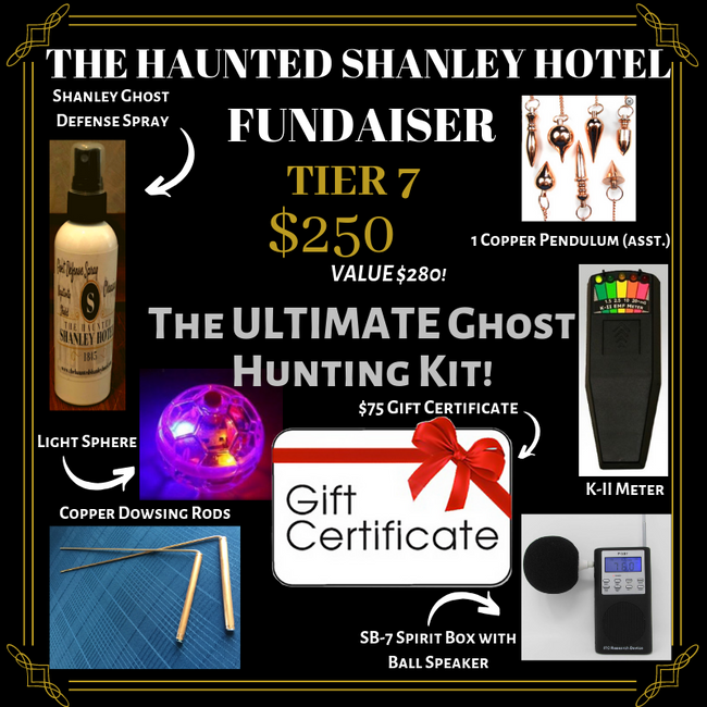 The Haunted Shanley Hotel Fundraiser | Tier 7
