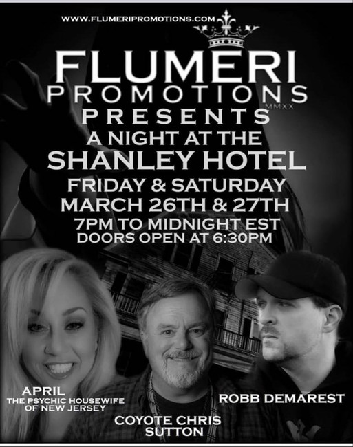 FLUMERI PROMOTIONS PRESENTS: The Shanley Hotel | March 26th