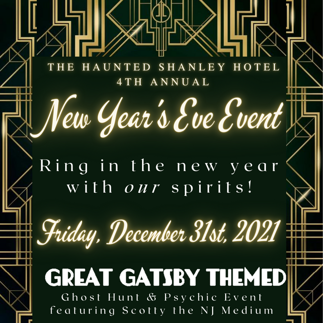 December 31st | 4th Annual New Year's Eve Event