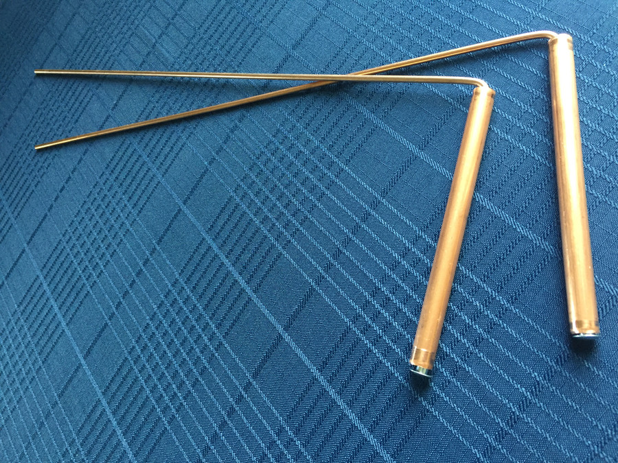 Copper Dowsing Rods