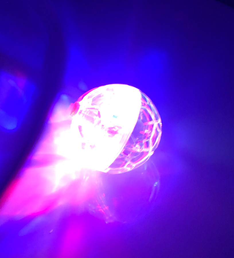 Vibration Activated Light Sphere